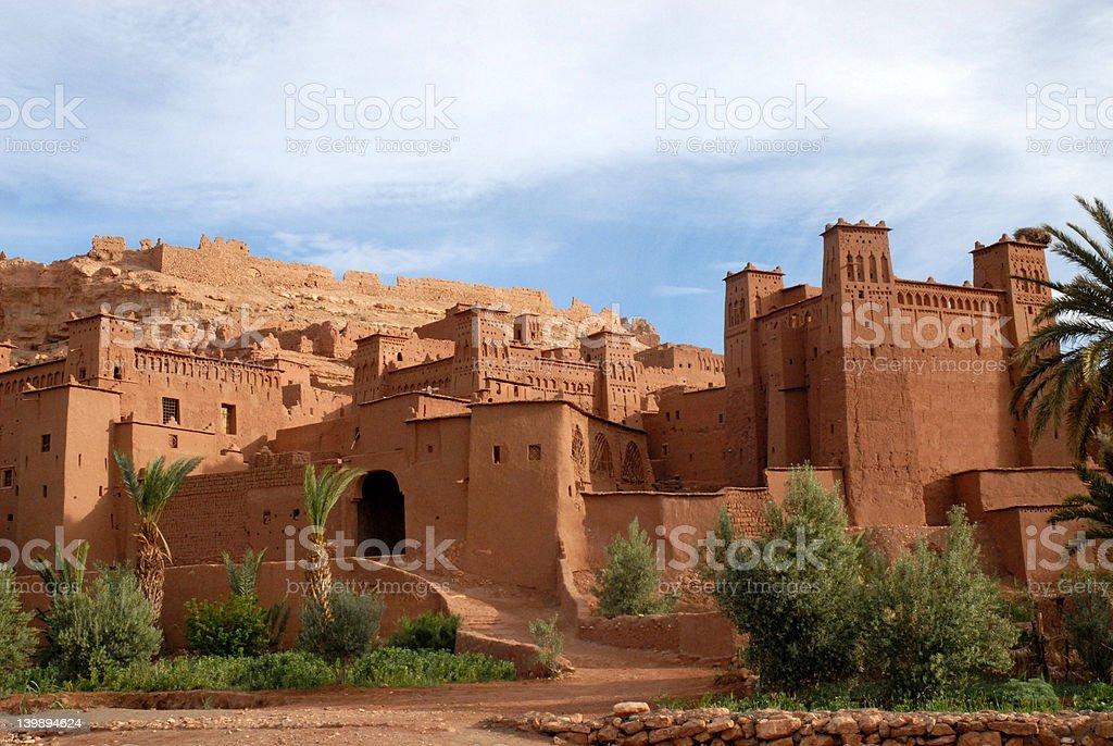 Kasbah Ait Benhaddou royalty-free stock photo
