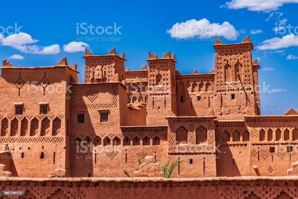 Kasbah Amahidil in Skoura, Morocco stock photo
