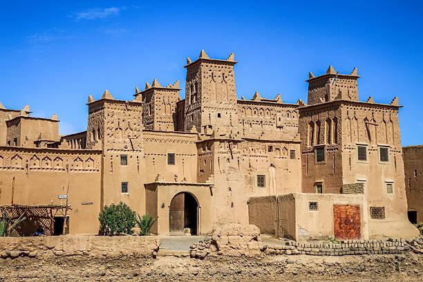 kasbah in skoura - kasbah bildbanksfoton och bilder