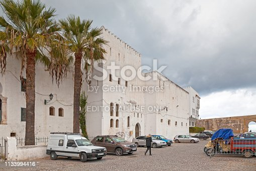 Tangier, Morocco - January 23 2019: Kasbah Museum, previously known as