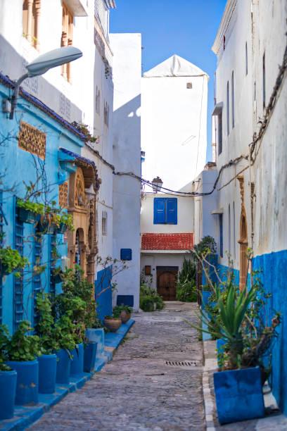 kasbah av udayas i rabat (hdri) - rabat marocko bildbanksfoton och bilder