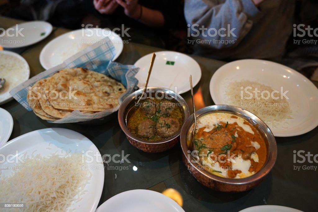 Kashmiri Food stock photo