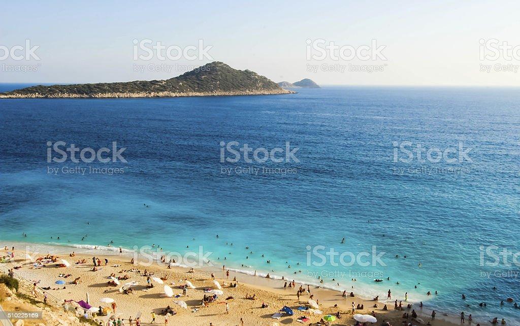 Kas,Kalkan,Antalya,Turkey. stock photo