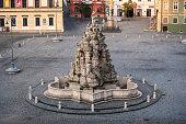 istock Kasna Parnas Fountain on Zelny Trh in Brno, Czech Republic 1288389340