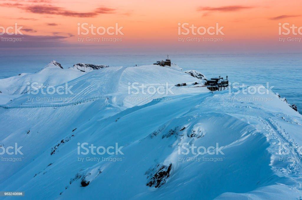 Kasprowy Wierch, Tatra-Gebirge im winter – Foto