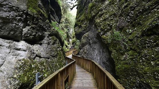 Horma canyon in kure mountains