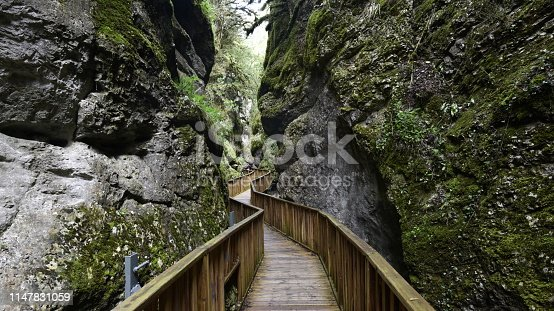 Horma canyon in kure mountains