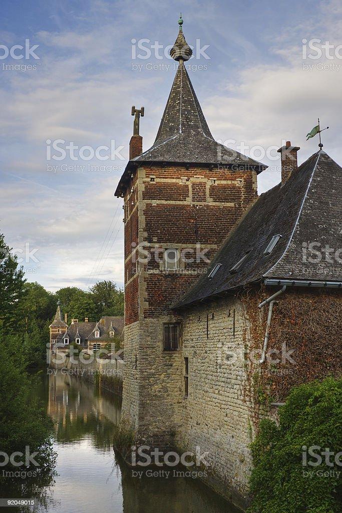 Kasteel van Perk stock photo
