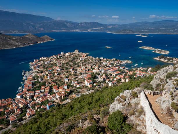 Kastellorizo (Megisti,Meis), Greece stock photo