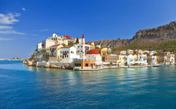 카스텔로리조 (megisti,meis)는 지중해 남동부에 위치한 그리스의 섬이자 지방자치단체이다. - 굼베 뉴스 사진 이미지