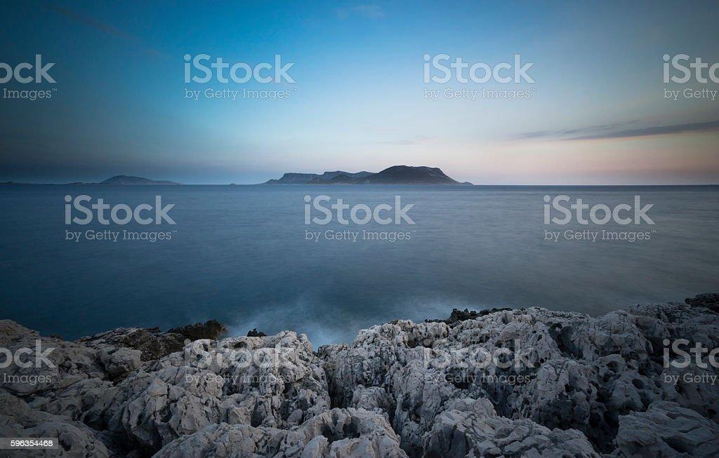 Kastellorizo, Megisti, Greece royalty-free stock photo