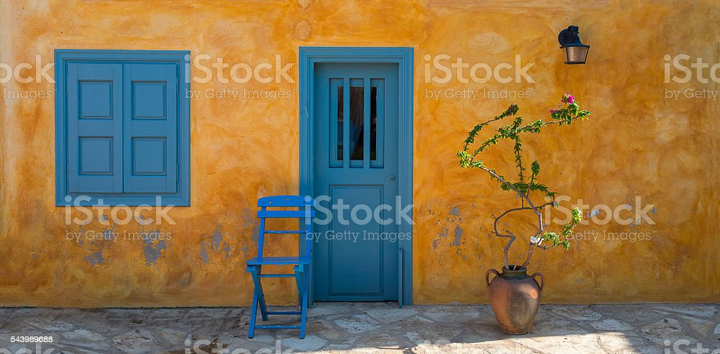 Kastellorizo stock photo