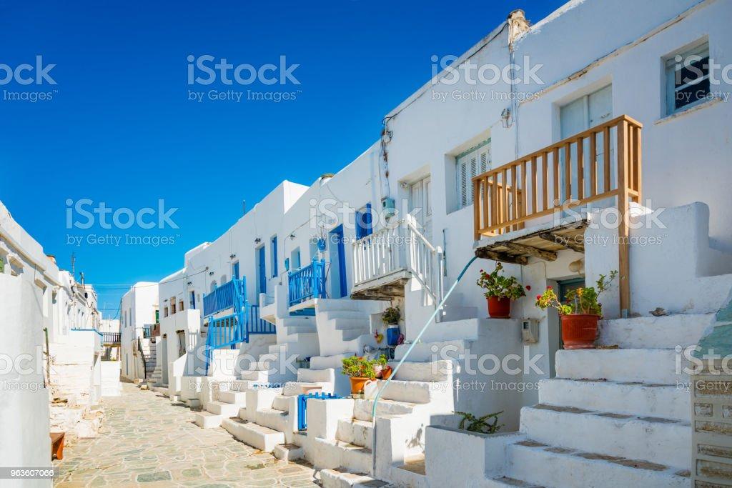 Kastro von Chora, Insel Folegandros, Griechenland – Foto