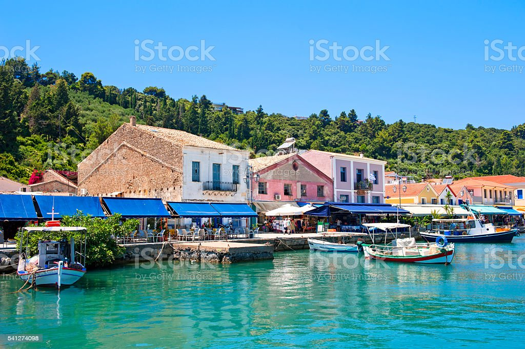 Katakolon, Greece stock photo