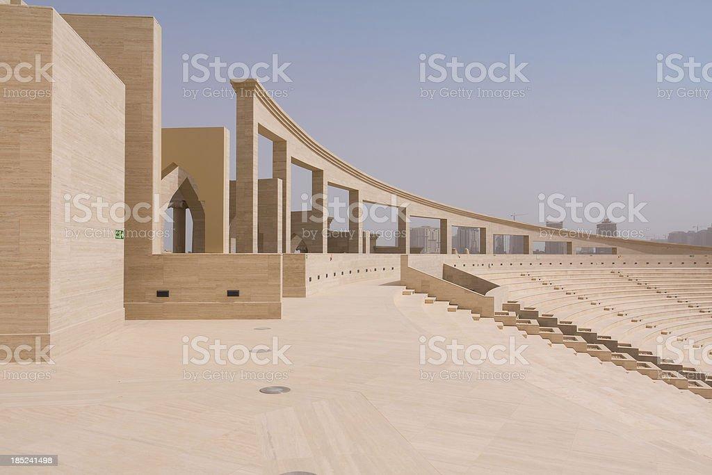 Katara Amphitheatre, Doha, Qatar stock photo