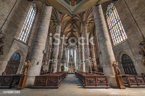 istock Katedrala svateho Bartolomeje, Plzen 1049981334