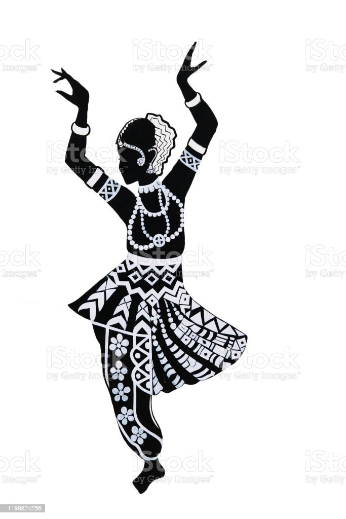 Kathak Dance Images Black And White