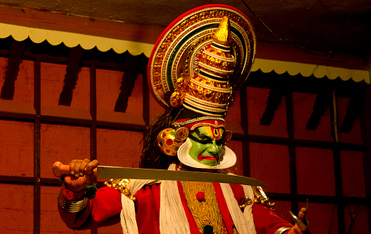 Kathakali Dance Stock Photo - Download Image Now