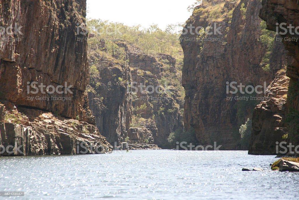 Katherine Gorge, Australia royalty-free stock photo