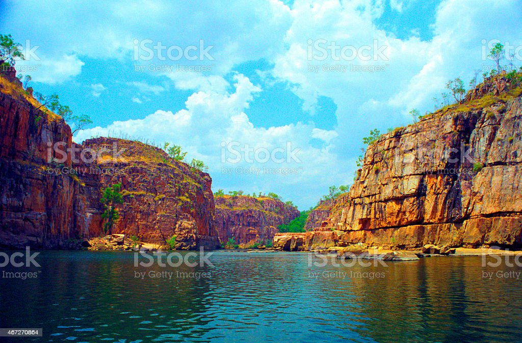 Katherine Gorge In Australia's Northern Territory stock photo