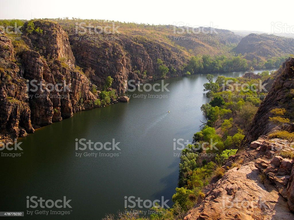 Katherine gorge, northern territory australia stock photo