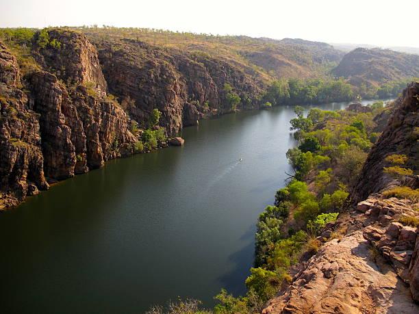 Katherine gorge, northern territory australia stock photo