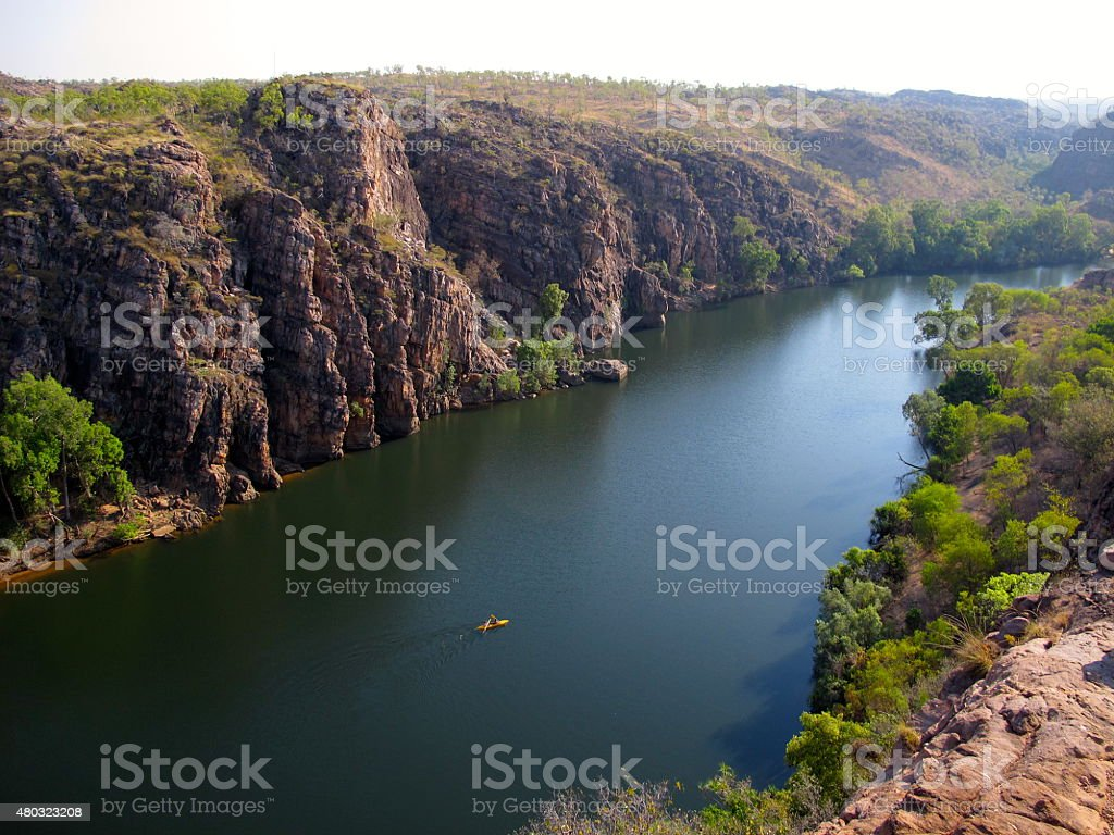 Katherine Gorge, Northern Territory, Australia stock photo