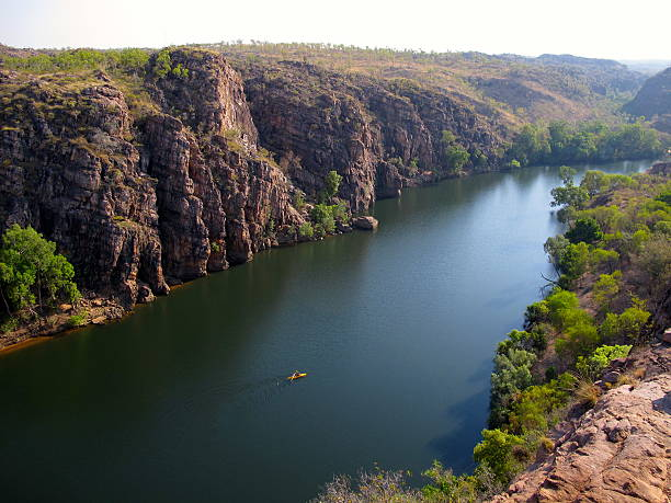 Katherine Gorge, Northern Territory, Australia stock photo