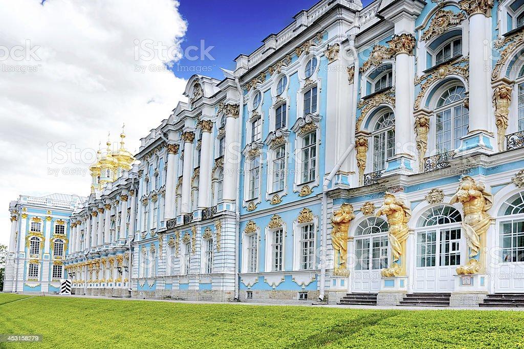 Katherine's Palace hall in Tsarskoe Selo (Pushkin). royalty-free stock photo