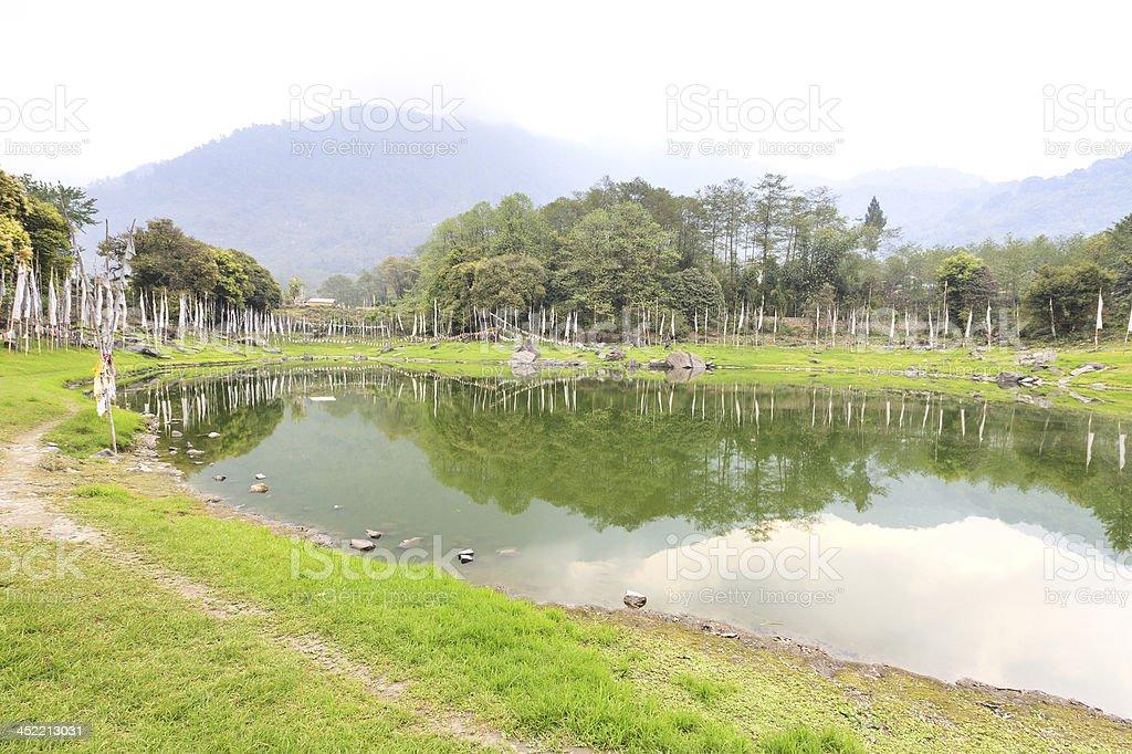 Kathok lake royalty-free stock photo
