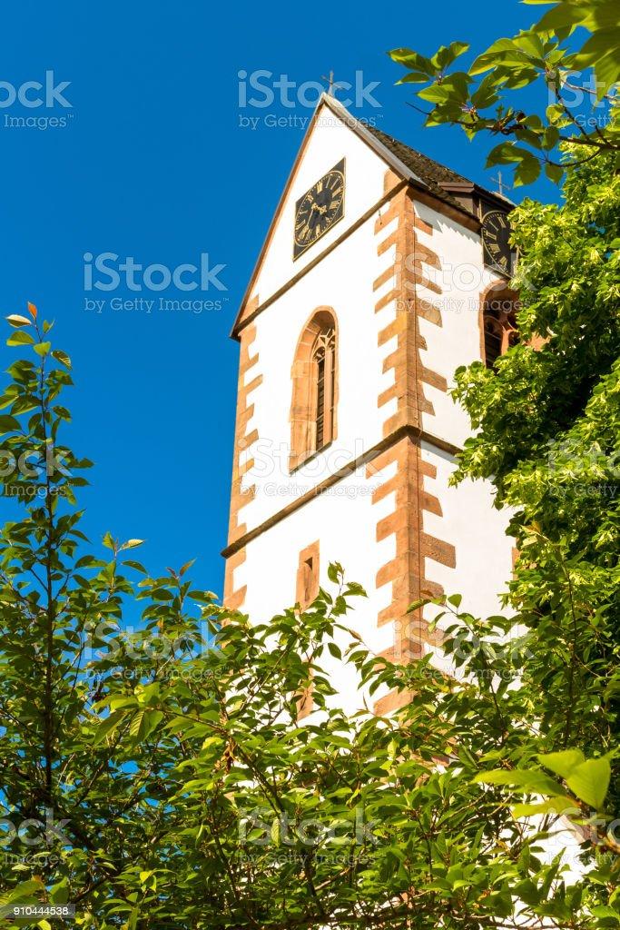 Katholische Pfarrkirche in Wolfach stock photo