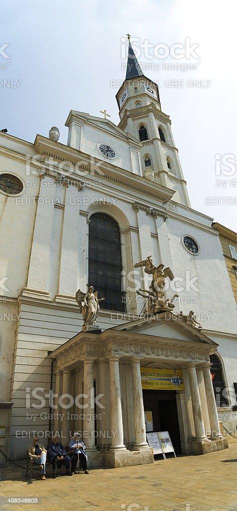 Katholisches Pfarramt St Michael -Vienna, Austria royalty-free stock photo