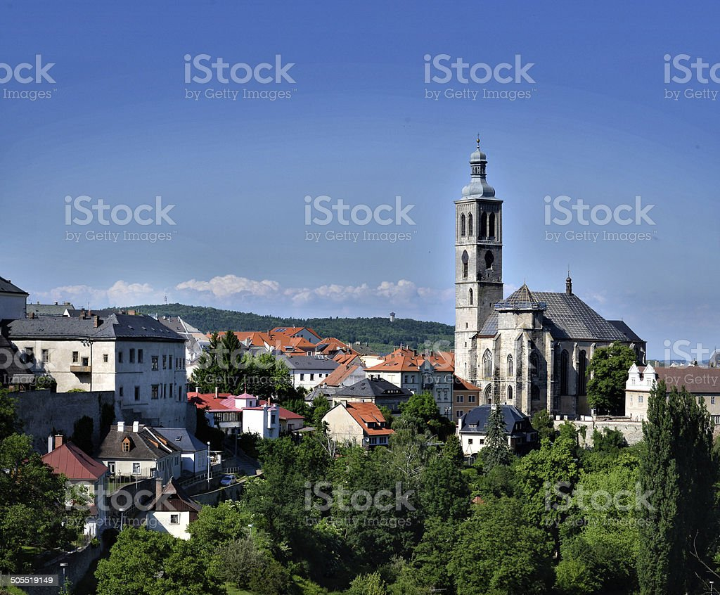 Katna Hora, Czech Republic stock photo