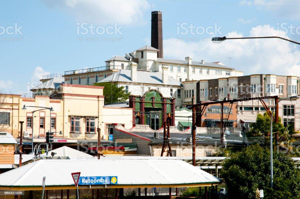 Ville de Katoomba - Photo de Architecture libre de droits