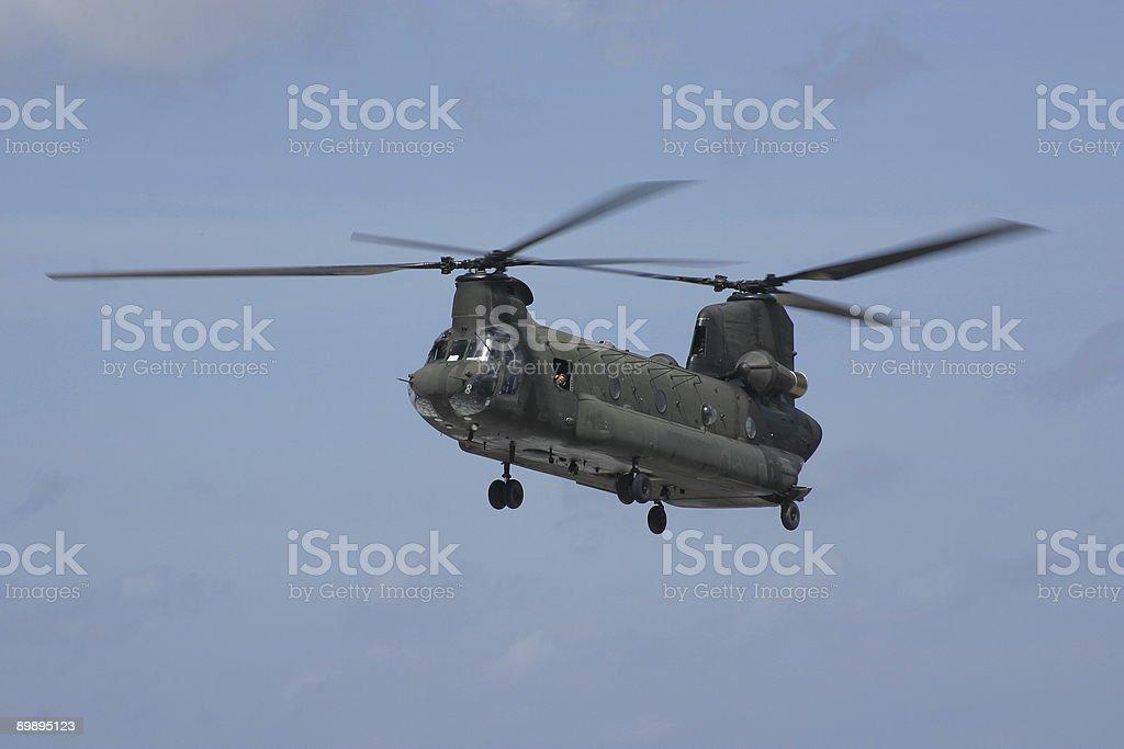 Katrina Rescue Chopper royalty-free stock photo