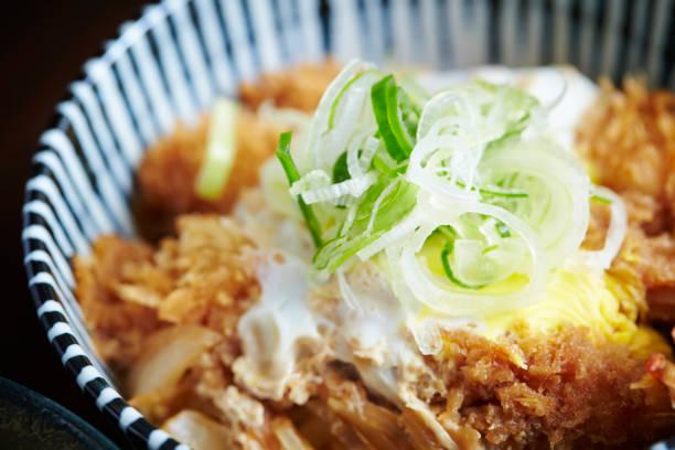 カツ丼  - 丼物 ストックフォトと画像