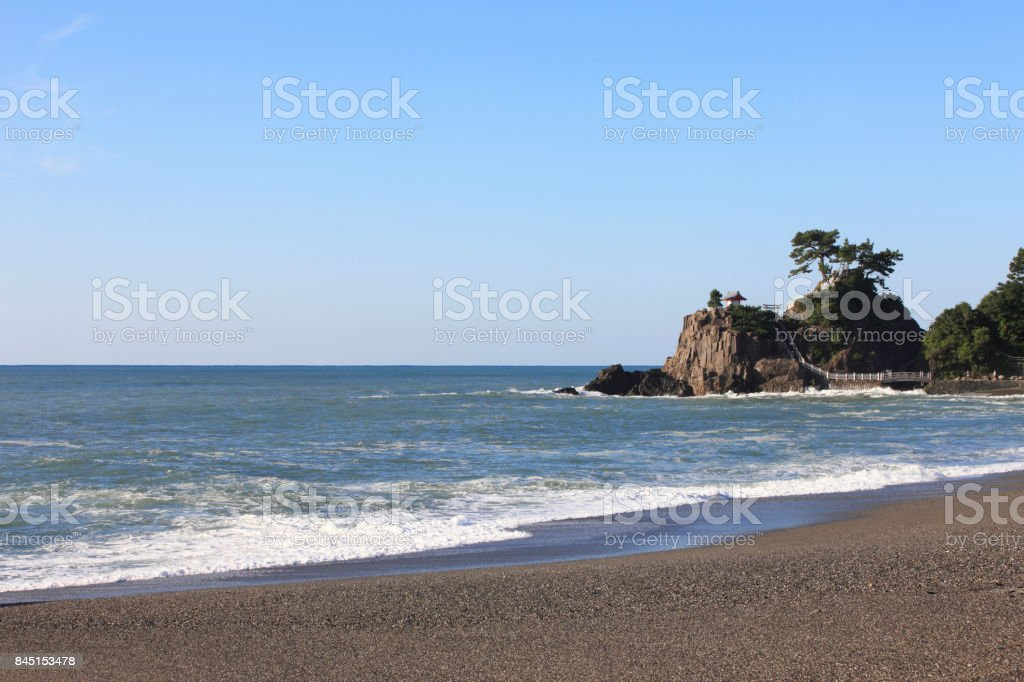 Katsura Beach stock photo