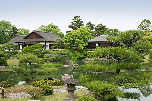 Katsura Imperial Villa, Kyoto, Japan stock photo