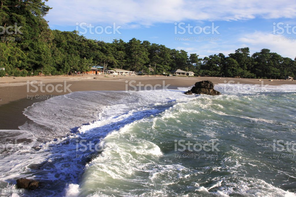 Katsurahama Beach stock photo