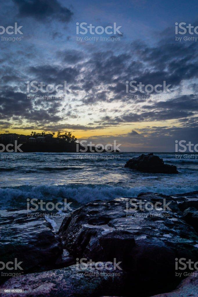 Kauai Dawn zbiór zdjęć royalty-free