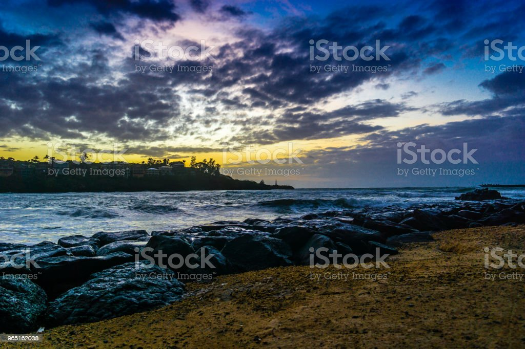 Kauai Dawn royalty-free stock photo
