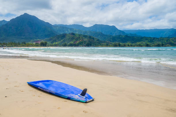 Kauai Hanalei Bay surfer's Paradise of Hawaii
