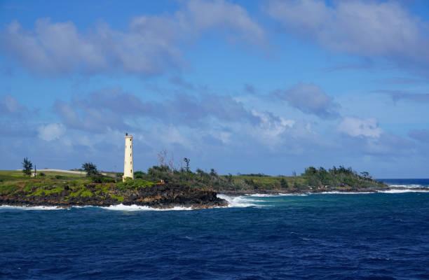 Kauai Lighthouse stock photo