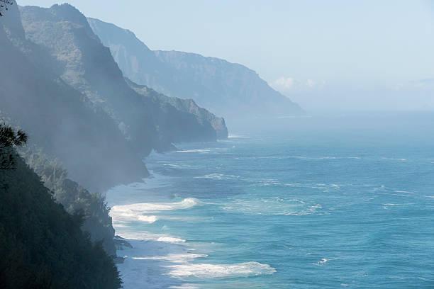 Kauai Na Pali Coast Wilderness stock photo