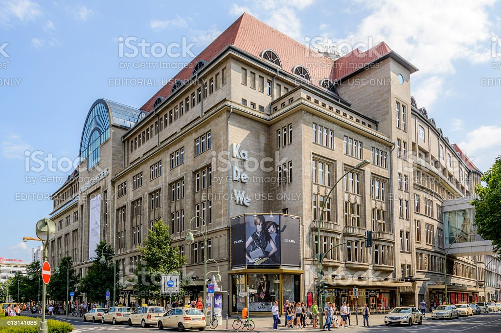 468380c9f6a327 Kaufhaus Des Westens Berlin Stock Photo   More Pictures of Berlin ...