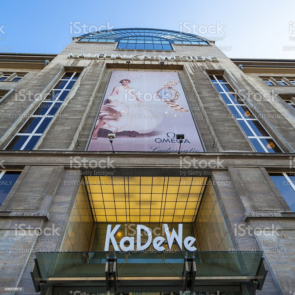 Kaufhof des Westens department store West Berlin royalty-free stock photo