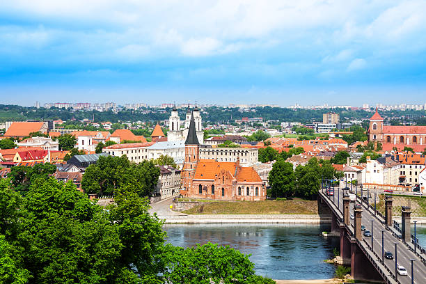 Kaunas Stadt panorama – Foto