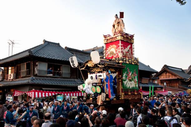 川越祭り - 伝統的な祭り ストックフォトと画像