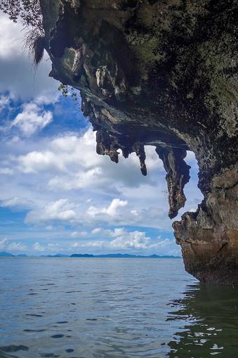 Kayak boat in Phang Nga Bay, Thailand