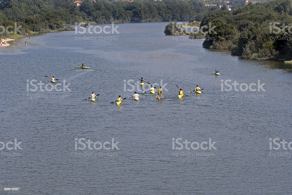 kayak royalty free stockfoto